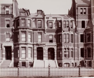 245-247 Commonwealth (ca. 1883), photograph by Albert Levy; Ryerson and Burnham Libraries Book Collection, The Art Institute of Chicago (Digital file #000000_100709-13).