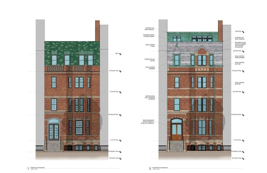 Comm 245 - Front Elevation - BBAC Submission (Feb2014) A