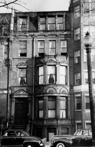 246 Commonwealth (ca. 1942), photograph by Bainbridge Bunting, courtesy of The Gleason Partnership