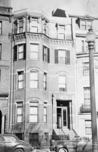 249 Commonwealth (ca. 1942), photograph by Bainbridge Bunting, courtesy of The Gleason Partnership