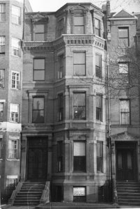 252 Commonwealth (ca. 1942), photograph by Bainbridge Bunting, courtesy of The Gleason Partnership