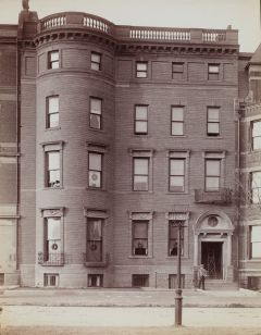 257 Commonwealth (ca. 1890); Soule Photograph Company, courtesy of Historic New England