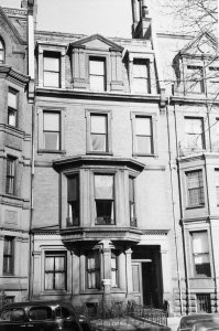 267 Commonwealth (ca. 1942), photograph by Bainbridge Bunting, courtesy of The Gleason Partnership