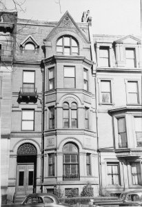269 Commonwealth (ca. 1942), photograph by Bainbridge Bunting, courtesy of The Gleason Partnership