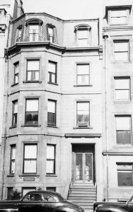 283 Commonwealth (ca. 1942), photograph by Bainbridge Bunting, courtesy of The Gleason Partnership