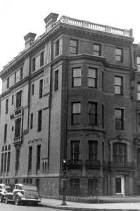 284 Commonwealth (ca. 1942), photograph by Bainbridge Bunting, courtesy of The Gleason Partnership