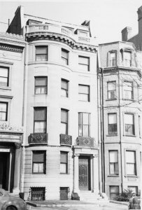 285 Commonwealth (ca. 1942), photograph by Bainbridge Bunting, courtesy of The Gleason Partnership