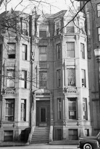 288 Commonwealth (ca. 1942), photograph by Bainbridge Bunting, courtesy of The Gleason Partnership
