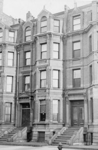 296 Commonwealth (ca. 1942), photograph by Bainbridge Bunting, courtesy of The Gleason Partnership