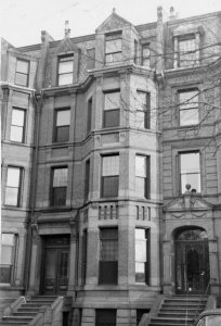298 Commonwealth (ca. 1942), photograph by Bainbridge Bunting, courtesy of The Gleason Partnership