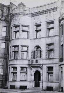 304 Commonwealth (ca. 1942), photograph by Bainbridge Bunting, courtesy of the Boston Athenaeum