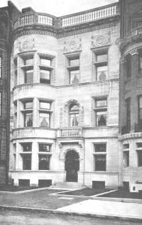 304 Commonwealth ca. 1897, from the Catalogue for 1897 Special Exhibition of the Boston Architectural Club