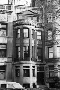 306 Commonwealth (ca. 1942), photograph by Bainbridge Bunting, courtesy of The Gleason Partnership