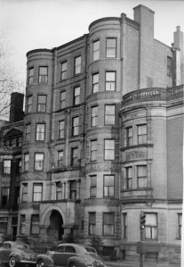 308 Commonwealth (ca. 1942), photograph by Bainbridge Bunting, courtesy of The Gleason Partnership