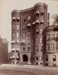 308 Commonwealth (ca. 1890); courtesy of the Print Department, Boston Public Library