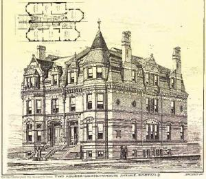 311-313 Commonwealth; The American Architect and Building News, 9Feb1878