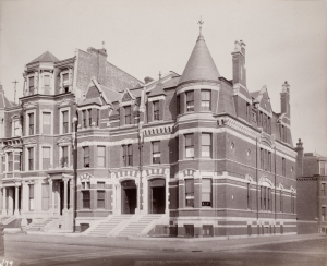 311-315 Commonwealth (ca. 1883); photograph by Albert Levy; Ryerson and Burnham Archives, The Art Institute of Chicago (Digital file #51191)