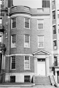 313 Commonwealth (ca. 1942), photograph by Bainbridge Bunting, courtesy of The Gleason Partnership