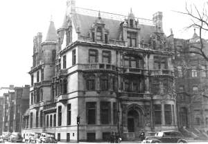 314 Commonwealth (ca. 1942), photograph by Bainbridge Bunting, courtesy of the Boston Athenaeum