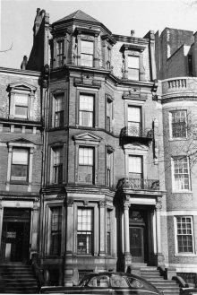 315 Commonwealth (ca. 1942), photograph by Bainbridge Bunting, courtesy of The Gleason Partnership