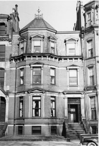 317 Commonwealth (ca. 1942), photograph by Bainbridge Bunting, courtesy of The Gleason Partnership