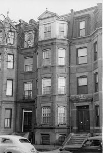 322 Commonwealth (ca. 1942), photograph by Bainbridge Bunting, courtesy of The Gleason Partnership