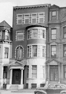 334 Commonwealth (ca. 1942), photograph by Bainbridge Bunting, courtesy of The Gleason Partnership