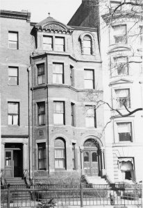 337 Commonwealth (ca. 1942), photograph by Bainbridge Bunting, courtesy of The Gleason Partnership