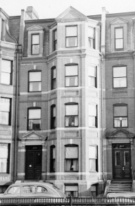 338 Commonwealth (ca. 1942), photograph by Bainbridge Bunting, courtesy of The Gleason Partnership