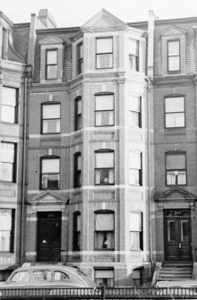 338 Commonwealth (ca. 1942), photograph by Bainbridge Bunting, courtesy of The Gleason Partnership