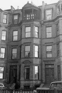342 Commonwealth (ca. 1942), photograph by Bainbridge Bunting, courtesy of The Gleason Partnership