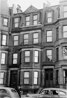 348 Commonwealth (ca. 1942), photograph by Bainbridge Bunting, courtesy of The Gleason Partnership