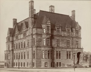 355 Commonwealth (ca. 1885-1890); courtesy of the Print Department, Boston Public Library