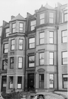 356-358 Commonwealth (ca. 1942), photograph by Bainbridge Bunting, courtesy of The Gleason Partnership