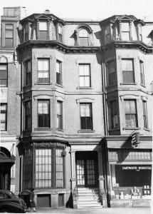 281 Dartmouth (ca. 1942), photograph by Bainbridge Bunting, courtesy of The Gleason Partnership