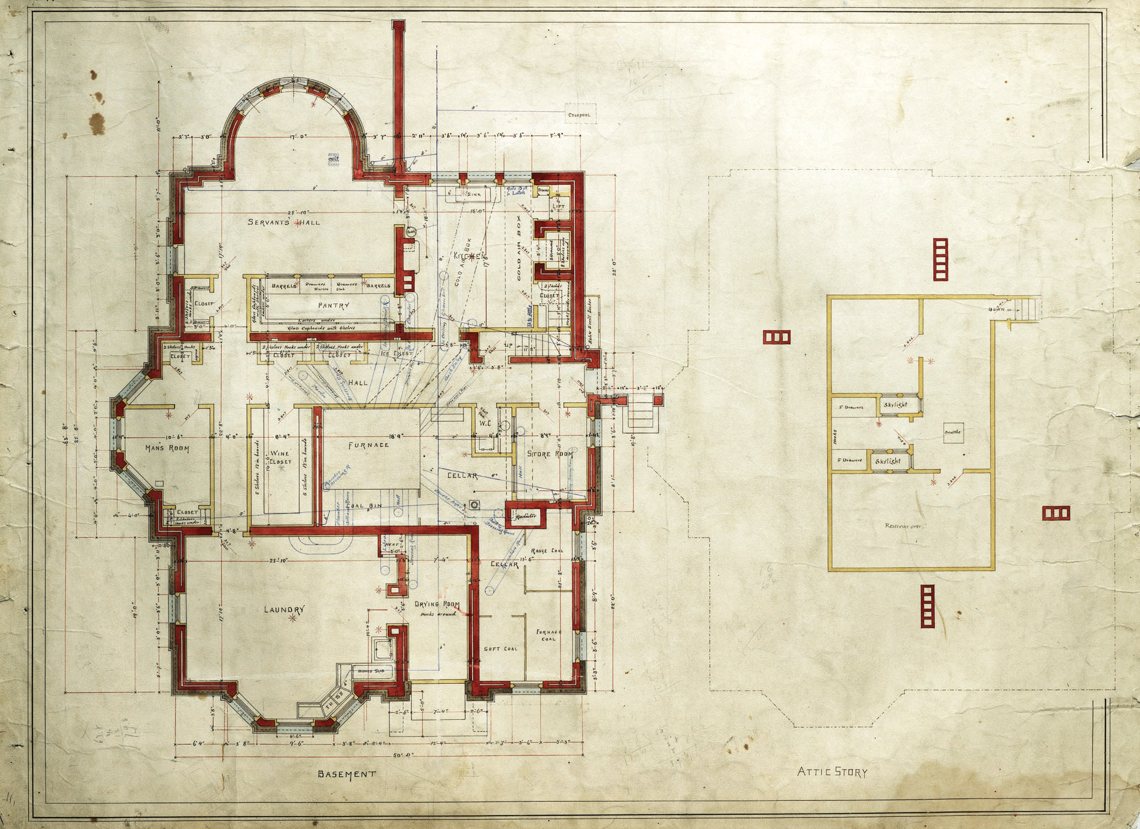 Architectural plans 306 dartmouth 1871 back bay houses for Dartmouth floor plans