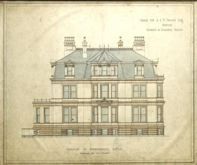 Commonwealth façade