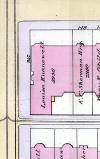 315 Dartmouth, 1888 Bromley map