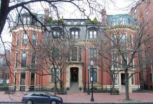 326-328 Dartmouth and Dartmouth façade of 163 Marlborough (2013)
