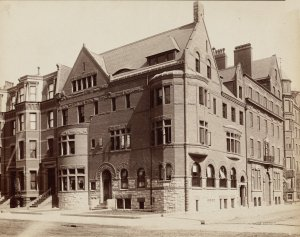 16 Exeter (196 Marlborough) (ca.1890); courtesy of the Print Department, Boston Public Library