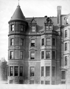 22 Fairfield, Commonwealth façade (ca. 1890), courtesy of the Bostonian Society
