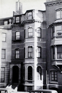 12 Marlborough (ca. 1942), photograph by Bainbridge Bunting, courtesy of the Boston Athenaeum