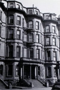 13-15 Marlborough (ca. 1942), photograph by Bainbridge Bunting, courtesy of the Boston Athenaeum