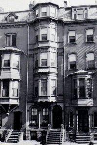16 Marlborough (ca. 1942), photograph by Bainbridge Bunting, courtesy of the Boston Athenaeum