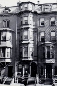 16 Marlborough (ca. 1942), photograph by Bainbridge Bunting, courtesy of the Boston Athenaeum