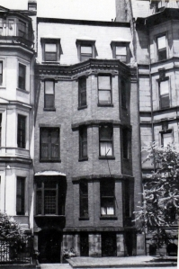 19 Marlborough (ca. 1942), photograph by Bainbridge Bunting, courtesy of the Boston Athenaeum