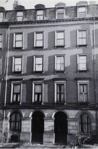 26-28 Marlborough (ca. 1942), photograph by Bainbridge Bunting, courtesy of the Boston Athenaeum