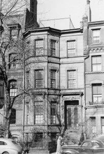 61 Marlborough (ca. 1942), photograph by Bainbridge Bunting, courtesy of The Gleason Partnership