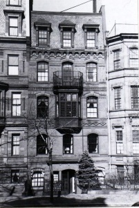 63 Marlborough (ca. 1942), photograph by Bainbridge Bunting, courtesy of the Boston Athenaeum