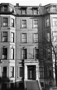 76 Marlborough (ca. 1942), photograph by Bainbridge Bunting, courtesy of The Gleason Partnership